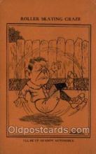 spo022093 - Roller Skating Old Vintage Antique Postcard Post Cards