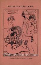 spo022094 - Roller Skating Old Vintage Antique Postcard Post Cards