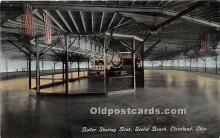spo022125 - Old Vintage Rollae Skating Postcard Post Card