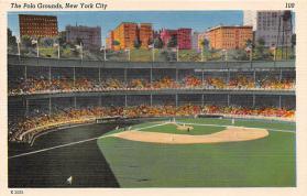 spo023043 - New York Giants, Polo Grounds, USA, Base Ball,  Baseball Stadium, Postcard Postcards