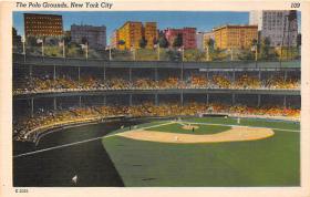 spo023050 - New York Giants, Polo Grounds, USA, Base Ball,  Baseball Stadium, Postcard Postcards