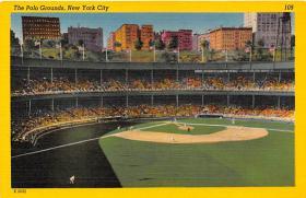 spo023064 - New York Giants, Polo Grounds, USA, Base Ball,  Baseball Stadium, Postcard Postcards