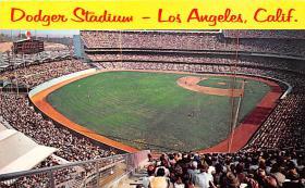 spo023082 - Dogers Stadium postcard postcards