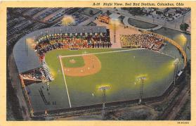 spo023096 - Red Bird Stadium postcard postcards