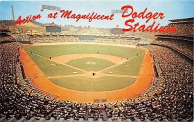 spo023111 - Dogers Stadium postcard postcards