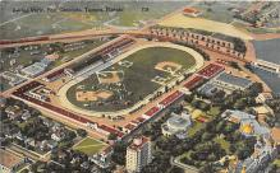 spo023123 - Fair Grounds, Tampa, FL, USA Baseball Stadiums, Base Ball Stadium, Postcard Postcards