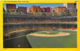 spo023124 - Polo Grounds, New York City, NY, USA Baseball Stadiums, Base Ball Stadium, Postcard Postcards