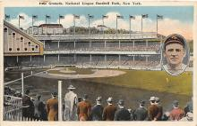 spo023125 - Polo Grounds, New York City, NY, USA Baseball Stadiums, Base Ball Stadium, Postcard Postcards