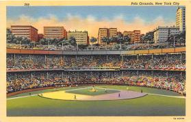 spo023134 - Polo Grounds, New York City, NY, USA Baseball Stadiums, Base Ball Stadium, Postcard Postcards