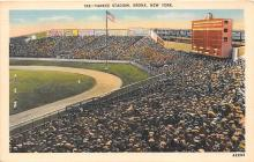 spo023140 - Yankee Stadium, Bronx, New York, USA, Baseball, Base Ball Stadium Postcard Postcards
