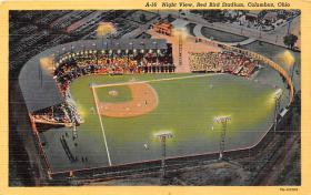 spo023142 - Red Bird Stadium, Columbus, Ohio, USA, Baseball, Base Ball Stadium Postcard Postcards