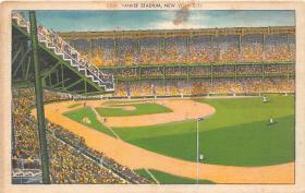 spo023167 - Yankee Stadium, Bronx, New York, USA, Baseball, Base Ball Stadium Postcard Postcards
