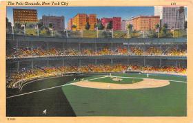 spo023169 - Polo Grounds, New York City, Home of the NY Giants Baseball Team, Base Ball Stadium Postcard Postcards