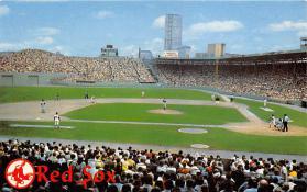 spo023174 - Fenway Park home of Boston Red Sox, Mass. USA Baseball, Base Ball Stadium Postcard Postcards