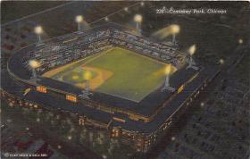 spo023180 - Comiskey Park, Chicago, Illinois, USA, Baseball, Base Ball Stadium Postcard Postcards