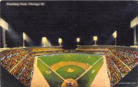 spo023182 - Comiskey Park, Chicago, Illinois, USA, Baseball, Base Ball Stadium Postcard Postcards