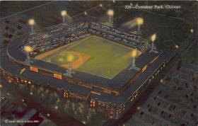 spo023184 - Comiskey Park, Chicago, Illinois, USA, Baseball, Base Ball Stadium Postcard Postcards
