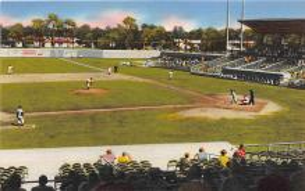spo023186 - Clearwater Stadium, Clearwater, Florida, FL, USA Baseball Stadiums, Base Ball Stadium, Postcard Postcards