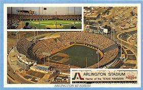 spo023201 - Arlington Stadium, Dallas, TX, USA Baseball Stadiums, Base Ball Stadium, Postcard Postcards