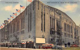 spo023209 - Chicago Stadium, Chicago, IL, USA Baseball Stadiums, Base Ball Stadium, Postcard Postcards