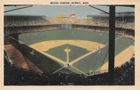 spo023214 - Bridge Stadium, Detroit, MI Baseball Stadiums, Base Ball Stadium, Postcard Postcards