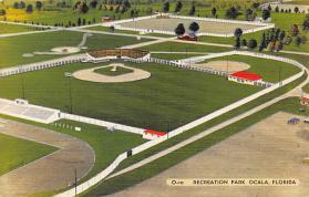 spo023226 - Recreation Park Ocala, Florida USA, Baseball Stadium Postcard Postcards