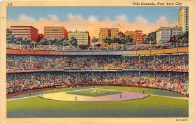 spo023237 - Polo Grounds, Home of New York Giants, New York City, USA Baseball Stadium Postcard Postcards