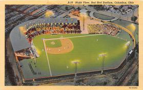 spo023243 - Red Bird Stadium, Columbus Ohio, USA, Baseball Stadium Postcard Postcards