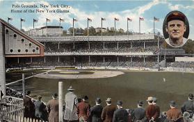 spo023247 - Polo Grounds, Home of New York Giants, New York City, USA Baseball Stadium Postcard Postcards