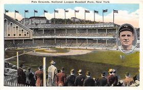 spo023248 - Polo Grounds, Home of New York Giants, New York City, USA Baseball Stadium Postcard Postcards