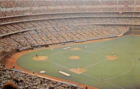 spo023249 - Cincinnati Riverfront Stadium, Ohio Baseball Stadium Postcard Postcards