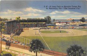 spo023263 - St. Petersburg, Florida USA, Baseball Stadium Postcard Postcards
