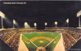 spo023270 - Comiskey Park, White Sox, Chicago Ill, USA, Baseball Stadium Postcard Postcards