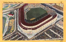 spo023527 - Yankee Stadium, Bronx, NY, USA Baseball Stadiums, Base Ball Stadium, Postcard Postcards