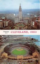 spo023530 - Cleveland Ohio Base Ball Baseball Stadium Postcards Post Card