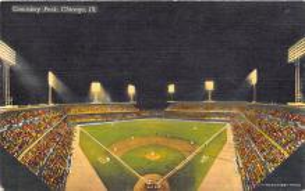 spo023542 - Comiskey Park, Chicago Ill. USA Chicago, Illinois Base Ball Baseball Stadium Postcards Post Card
