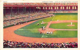 spo023543 - Comiskey Park, Chicago Ill. USA Home of the White Sox Chicago, Illinois Base Ball Baseball Stadium Postcards Post Card