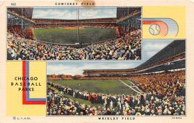 spo023544 - Wrigley Field Chicago, Illinois Base Ball Baseball Stadium Postcards Post Card