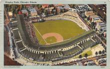spo023556 - Wrigley Field, Chicago, Ill. USA Chicago, Illinois Base Ball Baseball Stadium Postcards Post Card