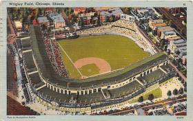 spo023556 - Wrigley Field, Chicago, Ill. USA Chicago, Illinois Base Ball Baseball Stadium Postcards Post Card
