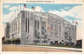 spo023557 - Chicago Stadium, Ill, USA Chicago, Illinois Base Ball Baseball Stadium Postcards Post Card