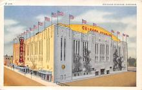 spo023559 - Chicago Stadium, Ill, USA Chicago, Illinios Base Ball Baseball Stadium Postcards Post Card