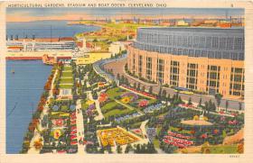 spo023576 - Cleveland Ohio, USA Municipal Stadium Base Ball Baseball Stadium Postcards Post Card
