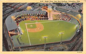 spo023588 - Coumbus OH, USA Red Bird Stadium, Ohio Base Ball Baseball Stadium Postcards Post Card