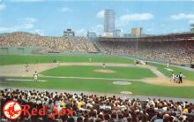 spo023597 - Fenway Park Home of the Red Sox Boston, Massachusetts Base Ball Baseball Stadium Postcards Post Card