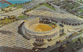 spo023605 - William A. Shea Municipal Stadium Flushing Meadow Park, Queens, New York City, New York Base Ball Baseball Stadium Postcards Post Card