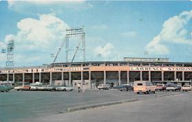 spo023621 - Lawrence Stadium Home of the Annual National Baseball Congress Tournament Wichita, Kansas Base Ball Baseball Stadium Postcards Post Card