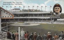 spo023635 - Polo Grounds, New York, USA Home of the New York Giants New York City, New York Base Ball Baseball Stadium Postcards Post Card
