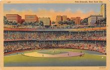 spo023644 - Polo Grounds, New York, USA Home of the New York Giants New York City, New York Base Ball Baseball Stadium Postcards Post Card