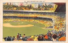 spo023647 - Polo Grounds, New York, USA Home of the New York Giants New York City, New York Base Ball Baseball Stadium Postcards Post Card